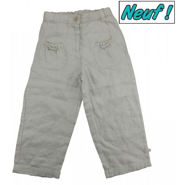 Pantalon en lin - NOUKIE'S - 4 ans (104)