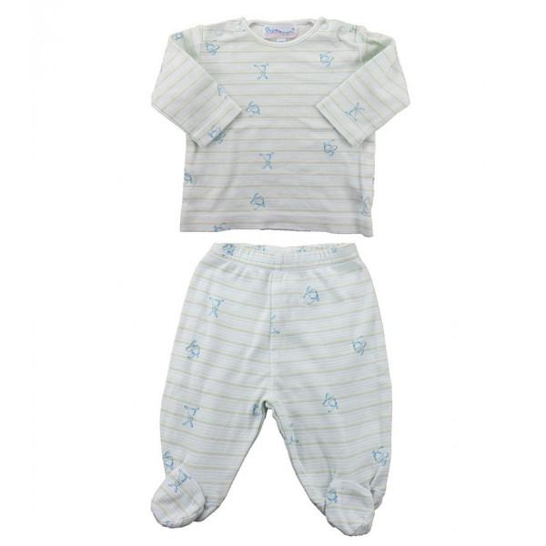 Pyjama - PRÉMAMAN - 3 mois