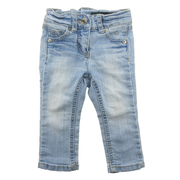 Jeans - BENETTON - 12 mois