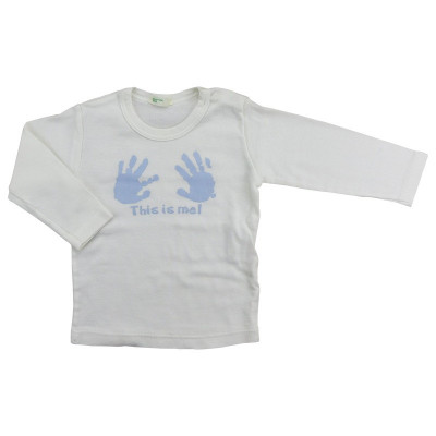 T-Shirt - BENETTON - 3-6 mois (62)