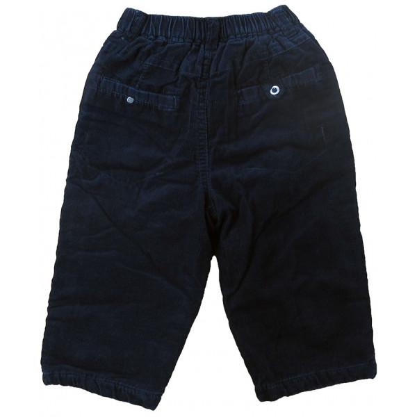 Pantalon doublé et rembourré - GRAIN DE BLÉ - 12 mois (74)