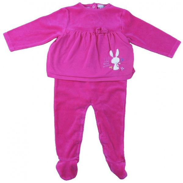 Pyjama - GRAIN DE BLÉ - 9-12 mois (74)