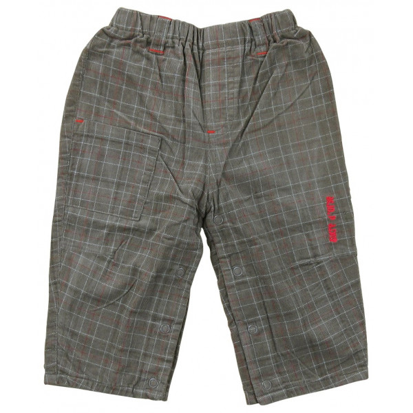 Pantalon doublé - SUCRE D'ORGE - 9 mois (71)