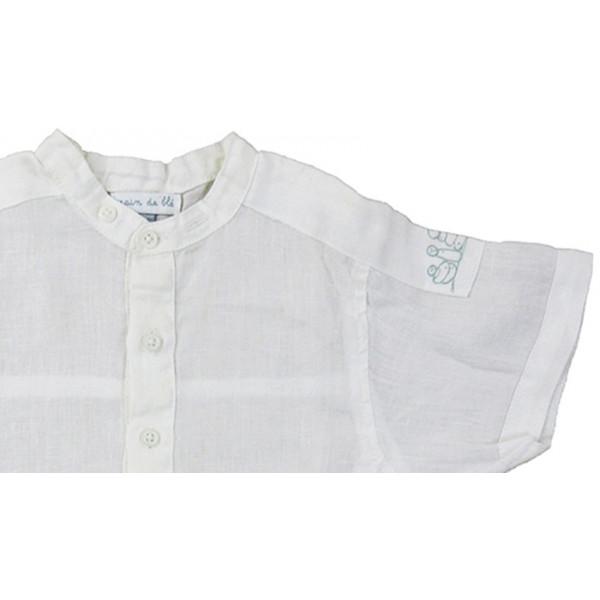 Linnen overhemd - GRAIN DE BLÉ - 18 maanden (81)