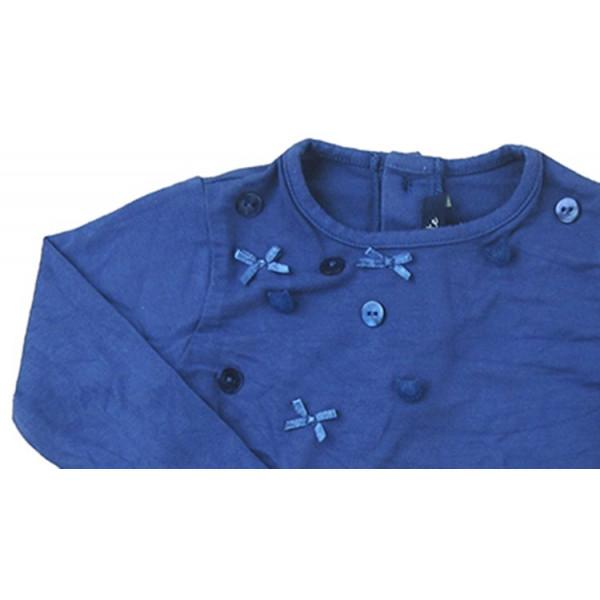 T-Shirt - LILI GAUFRETTE - 12 maanden