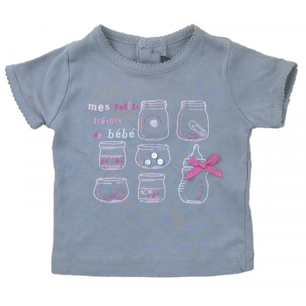 T-Shirt - LILI GAUFRETTE - 6 mois