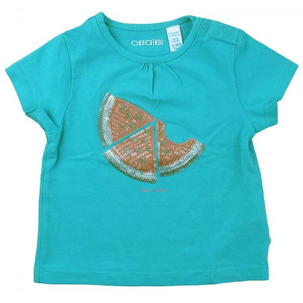 T-Shirt - OBAÏBI - 9-12 mois (74)