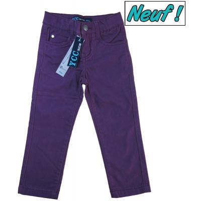 Pantalon (neuf) - YCC - 3 ans (98)