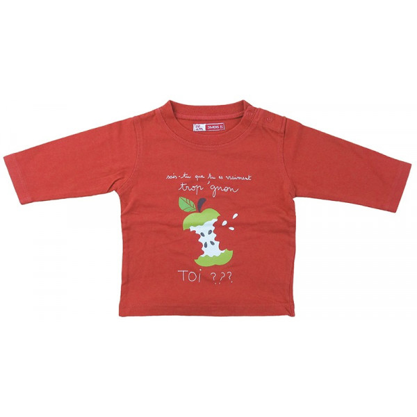 T-Shirt - DPAM - 1-3 mois (60)